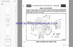 Volvo Michigan Wheel Loaders Parts Manual