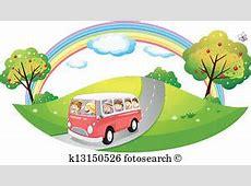 Bus Clipart EPS Bilder 29044 bus Clip Art Vektor