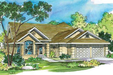 Tuscan House Plans  Mansura 30188  Associated Designs
