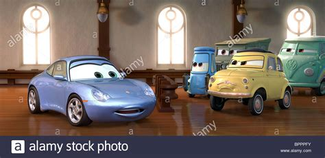 cars sarge and fillmore sally carrera guido sarge luigi fillmore cars 2006