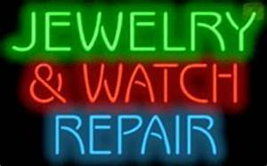 Jewelry & Watch Repair Neon Sign Amazon