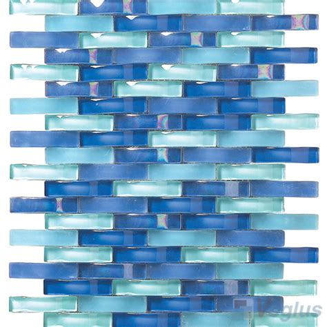 wavy glass tile royal blue arch wavy glass mosaic tiles vg uwy94 voglus mosaic