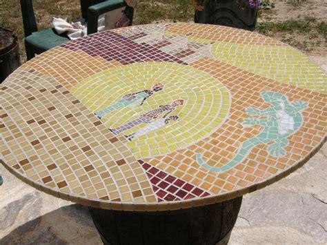 mosaique table ronde afrique cr 233 ations mosa 239 que de babs n 176 41195 vue 3030 fois