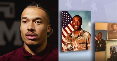 Talking about his family, he was born to his parents; Kellen Mond thanks father, relatives ahead of Veterans Day