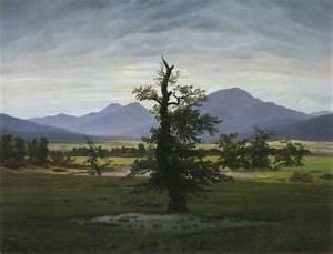 Caspar David Friedrich Romantik : p i g m e n t i u m solitary tree ~ Frokenaadalensverden.com Haus und Dekorationen