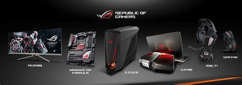 ces  asus rog showcases gaming innovations rog