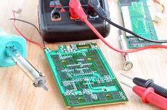 Test Repair Job Electronic Printed Circuit Boar Stock