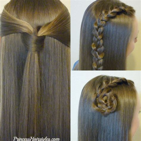 quick  easy   school hairstyles part
