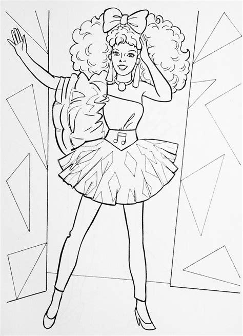 barbie   rockers diva fashion illustration