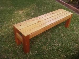 Diy  U2013 Making A Simple Wooden Bench