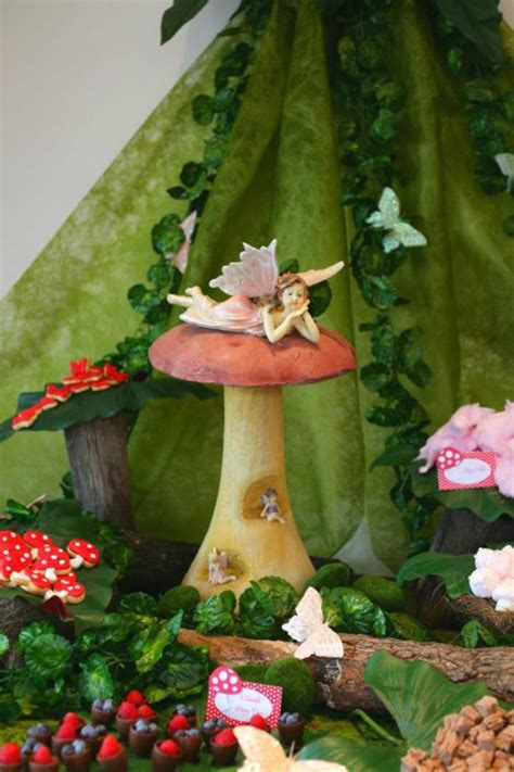 karas party ideas enchanted forest woodland fairy girl