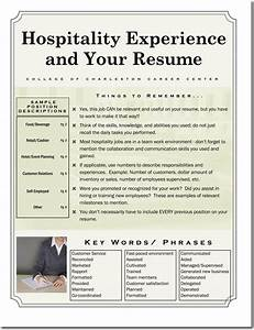 Polished Resume 3 Best Cv Examples For Hospitality Administration Jobs