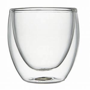Tasse En Verre : tasse bodum pavina verre double paroi 8 cl par 2 bodum ~ Teatrodelosmanantiales.com Idées de Décoration