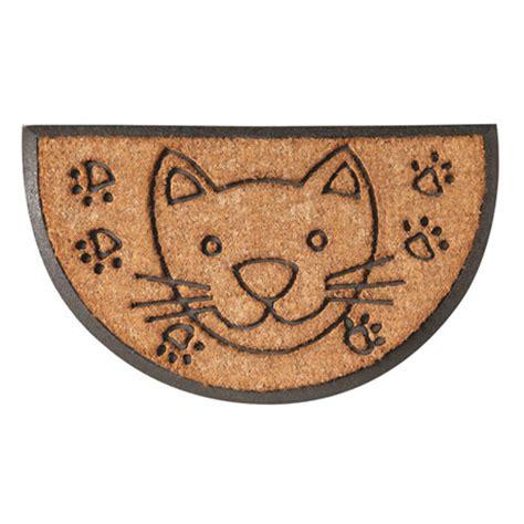 cat doormats cat doormat at signals hu1032