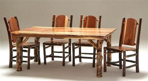 Black Walnut Dining Table & Chairs-traditional-dining