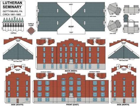 PAPERMAU: Gettysburg Lutheran Seminary Paper Building - by