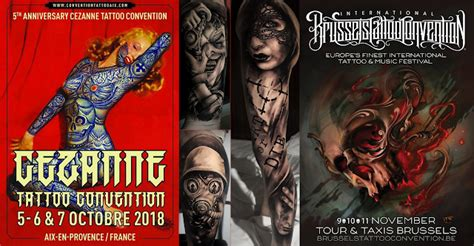 france  belgium tattoo conventions exink tattoo studio