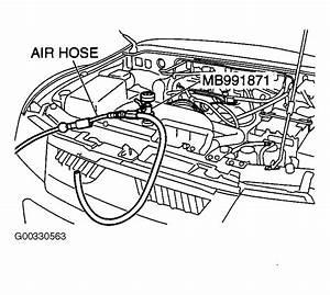 2004 Mitsubishi Montero Serpentine Belt Routing And Timing