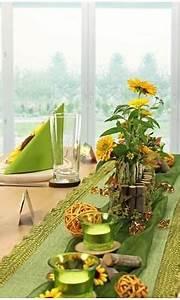 Tischdeko Mit Sonnenblumen : tischdeko in gr n und gelb tischdeko mit sonnenblumen ~ Lizthompson.info Haus und Dekorationen
