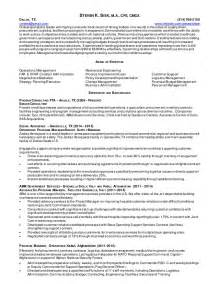 Resume Operations Manager Supply Chain Mgmt Procurement