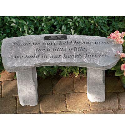 Personalized Bench For Garden Memorials