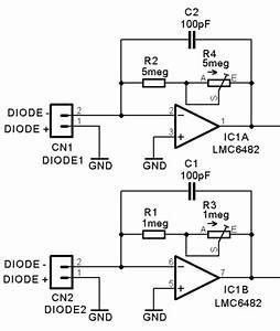 Fluorometer Block Diagram