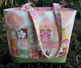Quilted Tote Bag Sewing Patterns