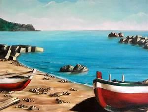 Beautiful Dipinti Di Paesaggi Marini Gallery Skilifts Us