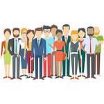 Diversity Illustration Clipart Workplace Transparent Diverse Clip