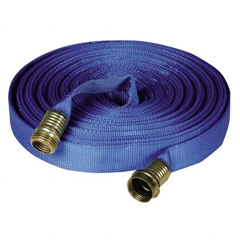 flat garden hose fsi flat supply hose for use with decon showers 4luv4 f