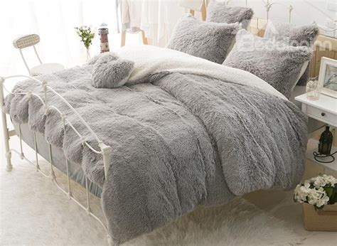 fluffy comforter set awesome bedroom the most awesome as well as lovely grey