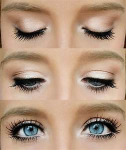How To Create A Natural Makeup Look For Blue Eyes - Makeup ...