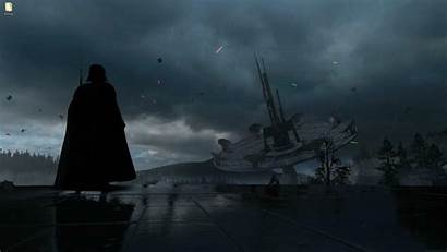 Vader Darth Wars Battlefront Games Endor Wallpapers