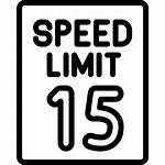 Limit Speed Icons