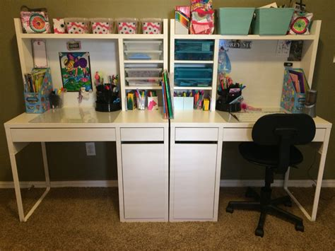 study room ideas from ikea ikea micke desks for the kids done kid desks pinterest micke desk desks and room