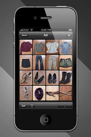 Touch Closet App by This App Lets You Input All Of Your Clothes And Puts