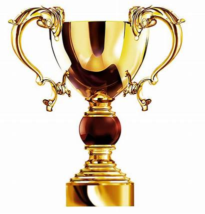 Trophy Cup Golden 3d Transparent Award Vector
