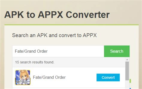 how to convert apk to appx by apk to appx converter apk