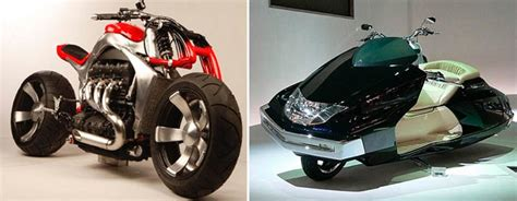 Unique Motorcycle Designs That Will Make You Look Twice