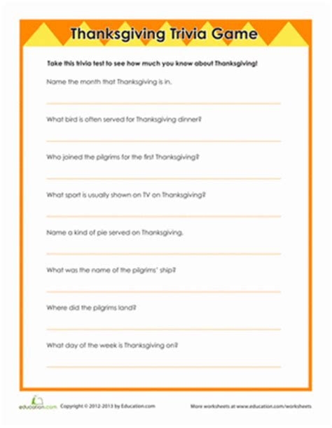 thanksgiving quiz printable worksheets related keywords thanksgiving quiz printable worksheets