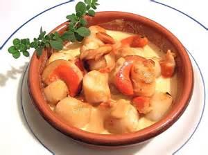 Cuisine Noix De St Jacques Recettes by St Jacques A La Creme Safranee