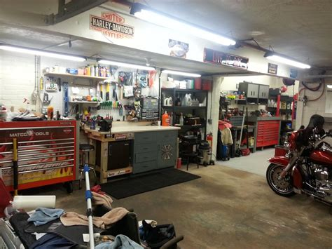 Lets See Your Garageharley's Home  Page 43  Harley