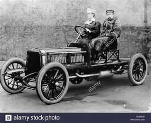 Madame Du Gaste And Monsieur Barbarou In A Benz Parsifal
