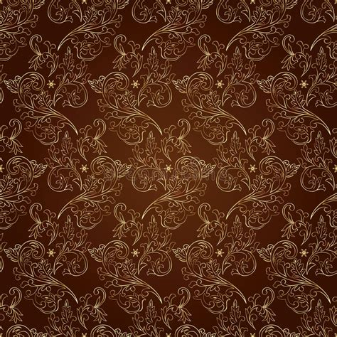 Aug 16, 2021 · kith is headed to hawaii. Floral Vintage Seamless Pattern On Brown Background Stock ...