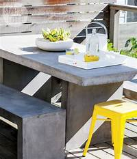 trending patio table decor ideas Outdoor Décor Trend: 26 Concrete Furniture Pieces For Your Backyard - DigsDigs