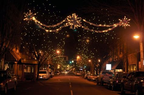 christmas main streets  oregon