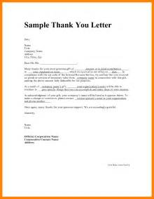 Thank You Letter Sles Free by Resume Thank You Letter Template 49 Images 9 Thank You Letter Template Janitor Resume 7