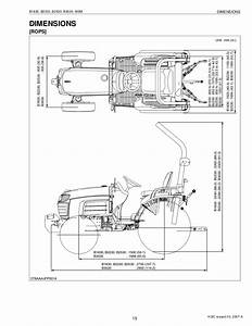Kubota B2530 Tractor Service Repair Manual