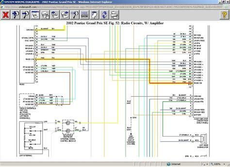 2002 pontiac grand prix gtp radio wiring diagram somurich