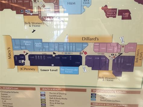 cool springs galleria map adriftskateshop